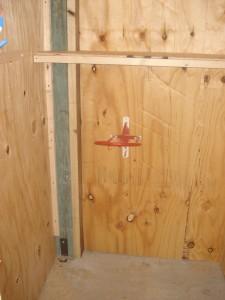 Inside tack locker