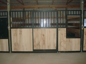 Outside of new stall
